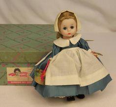 "Vintage 1962 Madame Alexander Colonial Girl 789 BKW Americana 8"" Doll RARE | eBay"