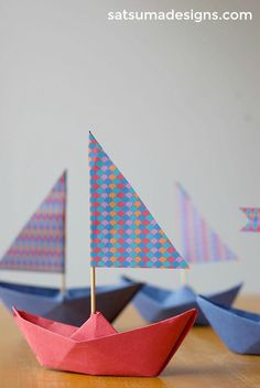 how to fold a paper boat | boat origami...