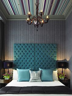 Flemings Mayfair Bedroom...staying here in the Summer...