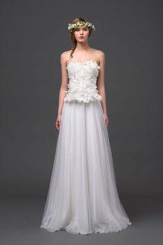 EN IMAGES. Dix robes de mariée de la collection 2015 Alberta Ferretti - L'Express Styles