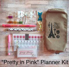 Planner Kit / ECLP / Erin Condren / Kikki k / Filofax by PugPaperCo on Etsy https://www.etsy.com/listing/243399951/planner-kit-eclp-erin-condren-kikki-k