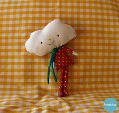 rag cloud doll  anekka handmade