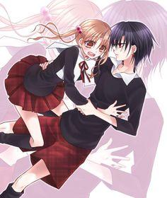 gakuen alice mikan y natsume Kawaii Chan, Kawaii Anime, Old Anime, Manga Anime, Alice Academy, Natsume And Mikan, Kodomo No Omocha, Alice Day, Alice Anime