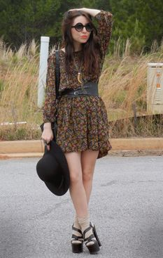 Fashion click look of the day:  under the spell is casting a style spell (Teen Vogue)