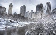 Central Park Manhattan New York City Winter