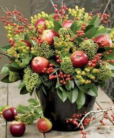 Brambleberry Cottage #fall #thanksgiving decorating