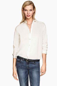 Bavlnená košeľa   H&M