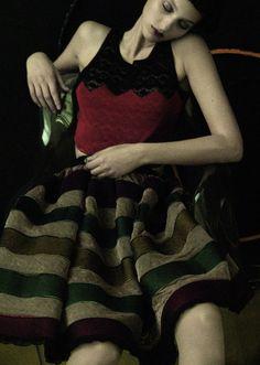 Colorful realm   Grey Magazine#4 Spring/Summer 2011, Georgina Stojiljkovic by Sarah Moon.