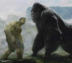 Hulk vs. King Kong