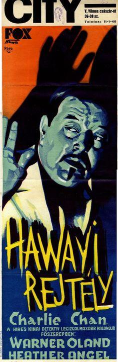 A Charlie Chan filmek sikerét a svéd Warner Oland főszereplésével készült epizódok hozták el. Oland 1931-től 15 filmben játszotta el a kínai nyomozót.  A Hawai rejtélyt 1935-ben mutatták be. http://hdl.handle.net/2437/119934