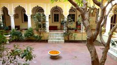 """With the impressive and intriguing title """"THE 'TOWN HOUSE' OF THE SHEKHAWAT CLAN OF RAJPUTS IN ALL ITS GLORY"""" Alsisar Haveli of Jaipur is being featured in a premium travel blog """"…"""
