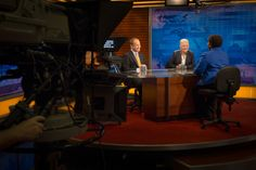 6:23 pm - Wrapping up the day with a final interview, this time with NewsHour's Gwen Ifill.