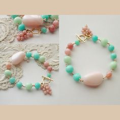 Pink Opal Bracelet inspiration color