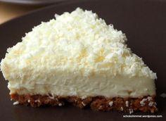 Creeeeemiger Cheesecake mit weißer Schokolade