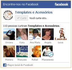 Colocar caixa de curtir do Facebook no Blogger | Templates e Acessórios