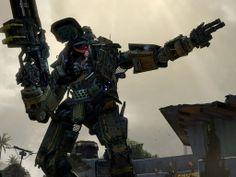 Los robots de Titan Fall.