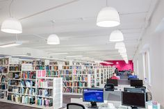 Our Boots Library has loads of different learning spaces and environments, from silent study to group working areas.