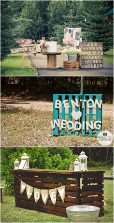 """Say """"I Do"""" to These Fab 100 Rustic Wood Pallet Wedding Ideas #country #rustic #rusticwedding #weddingideas #Wooden"""