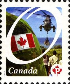 Sello: Helicopter (Canadá) (Definitives 2011-2013.  Canadian Pride.) Mi:CA 2686,Sn:CA 2418a,Yt:CA 2565,WAD:CA003.11