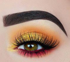 55 Die meisten sexy und auffälligen orange Make up Tipps z. Hd.
