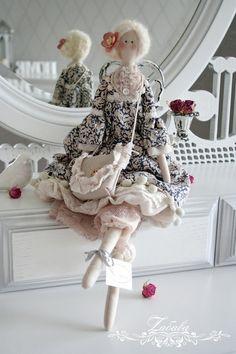 Куклы Тильды ручной работы. Ярмарка Мастеров - ручная работа Кукла в стиле Тильда Стефани. Handmade.