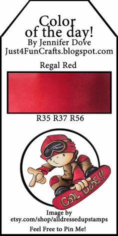 Color of the Day 152 - regal red