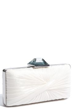 Sondra Roberts Pleated Clutch | Nordstrom I need to keep my phone somewhere:) #BBWeddings #stylemepretty