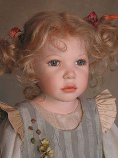 """Alinka by Henry and Zofia Zawierszynski 27"""" doll - limited edition of 101"""