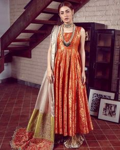 LALEH 11 Spring Festive 2019 by Zonia Anwaar - chambeili Bridal Indian Long Dress, Party Wear Indian Dresses, Pakistani Fashion Party Wear, Pakistani Wedding Outfits, Pakistani Dresses Casual, Indian Gowns Dresses, Indian Fashion Dresses, Pakistani Dress Design, Indian Designer Outfits