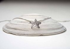 Starfish Pendant Sterling Silver Starfish by BelindaCarmichaelSJ, $68.00 #pcfteam