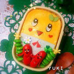 ふなっしーオムライスお弁当♪ by myny at 2014-3-5