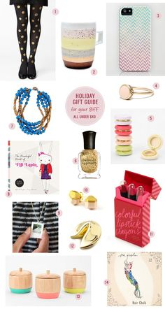Holiday Gift Guide –– For Your BFF (All Gifts under 40 dollars!)