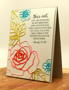 Fear Not by ilinacrouse - Cards and Paper Crafts at Splitcoaststampers