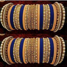 Bridal Bangles, Gold Bangles, Silver Bracelets, Bridal Jewelry, Bangle Bracelets, Silver Jewelry, Jewelry Necklaces, Thread Bangles Design, Silk Thread Bangles