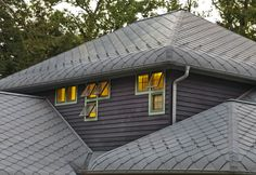 Private Residence in Erie, Pennsylvania (United States)  #Zinc #VMZINC #PrivateHouse #Roofing #Project #France #Architecture #USA