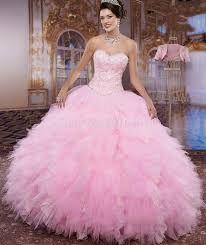 Resultado de imagen para vestidos de 15 rosados