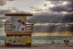 18th Street Lifeguard Shack, South Beach