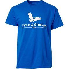 Field & Stream Men's Eagle Logo T-Shirt, Size: Medium, Blue