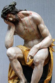 Hans Leinberger. Christ in Distress. 1525. detail   da arthistory390