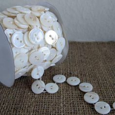 button garland; from an ETSY store that was not mentioned in the original pin...sorry