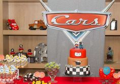 Cars party in a Double celebration. The passion of father and Son.    CatchMyParty.com
