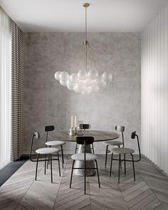 Truffle flat by Tolko interiors - via Coco Lapine Design blog