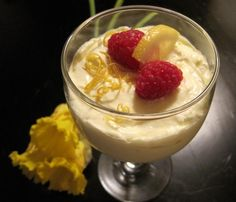 Super Easy Lemon Mousse Recipe - Dessert.Food.com - 127947