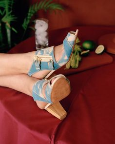 Shoes by Becky Bungarz. Looks like she's using @lumi @inkodye