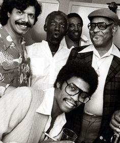 Chick Corea, Art Blakey, Ray Brown, Dizzy Gillespie, and Herbie Hancock