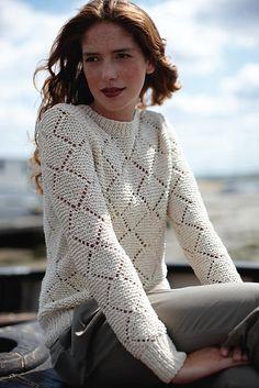 Rowan Seascapes (British knitting/crochet booklet), Pandora by Martin Storey
