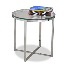 Interlude Home Cross End Table