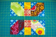 13 inch size X+ quilt math tute City Stitches: Japanese x and + tutorial