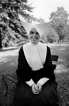 Sister Celine, Daughters of Charity, St.Louis, 1958 by Bob Willoughby, via Flickr