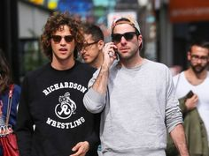 Oh Zachary Quinto and Miles McMillan, how I've missed you guys being perfect. The very adorable couple was spotted in New York City yesterday, enjoying a